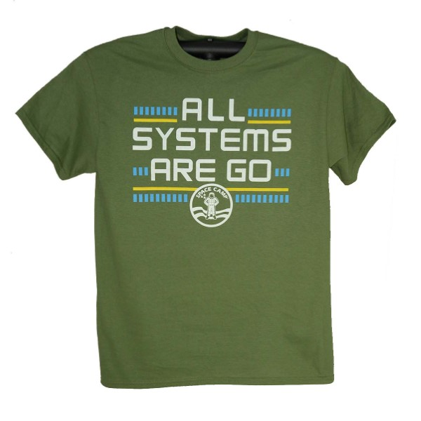 Systems Go Space Camp Tee,SPACECAMP,200A