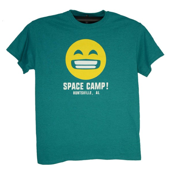 Emoji Space Camp Face Tee,SPACECAMP,200A