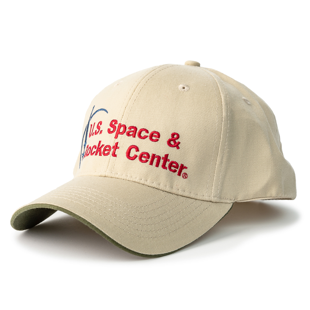 Rocket Center Logo Moon & Rocket 