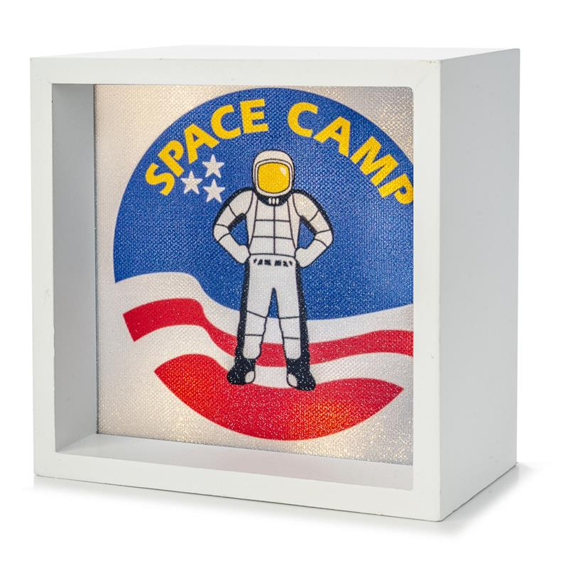 Space Camp Light Box,SPACECAMP,LBX-W-26598