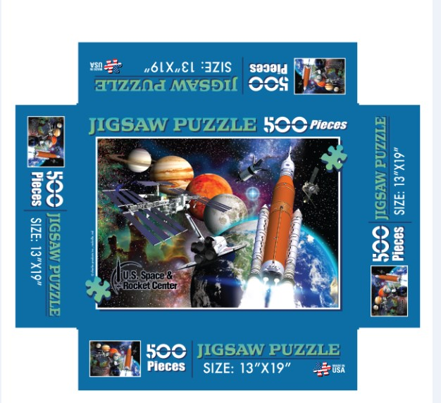 500 pc Collage Jigsaw Puzzle,21/8782