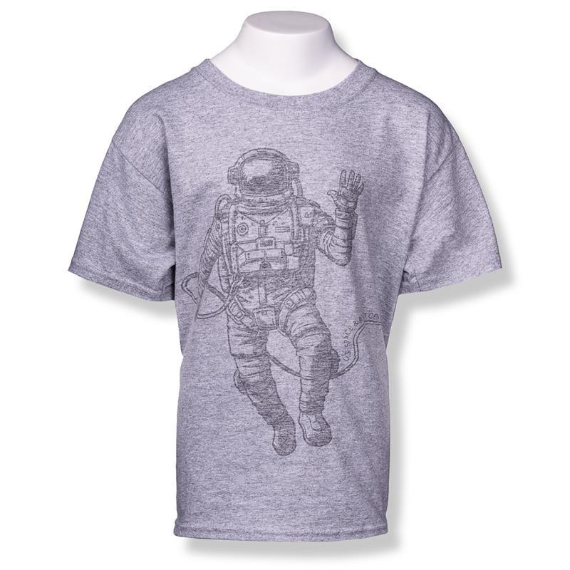 Large Astronaut Youth Tee,S117870/X39709/5000B