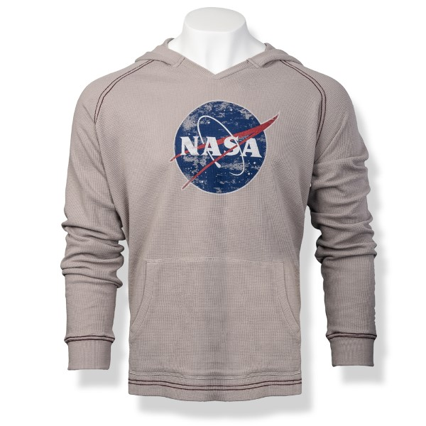 NASA Meatball Men's Thermal Hoodie,NASA,S12719/R376A