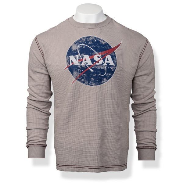 NASA Vector Men's Thermal LS Tee,NASA,S12719/R341A