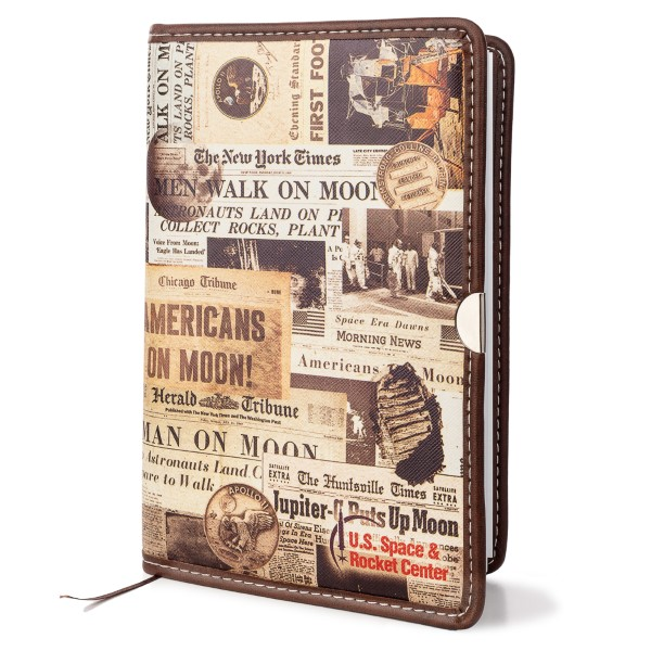 Newspaper Art Leather Journal,50TH ANNIVERSARY,21/8903 IMP