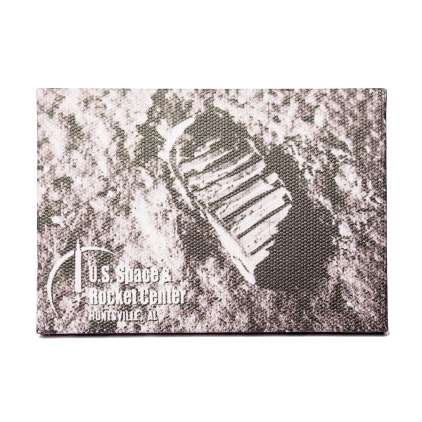 Footprint Canvas Magnet,50TH ANNIVERSARY,14/0206 IMP