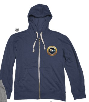 Golden Anniversary Full Zip Sweatshirt,50TH ANNIVERSARY,S135301/85029