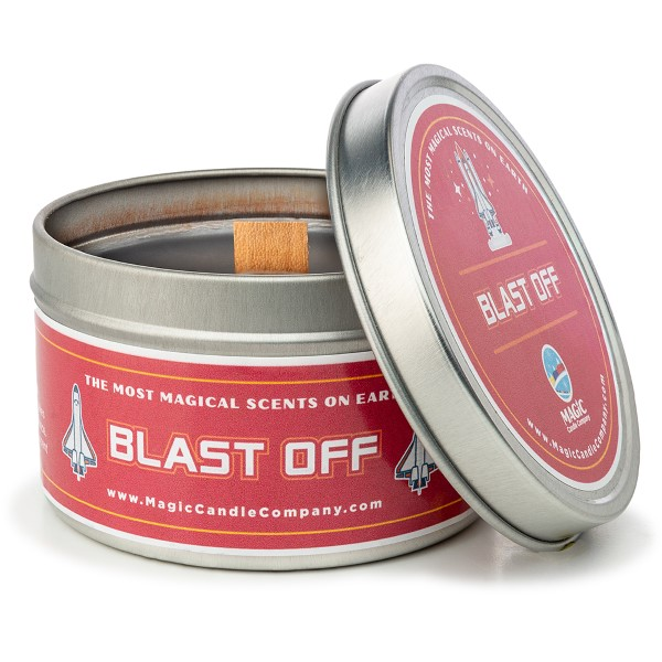 Blast Off Candle