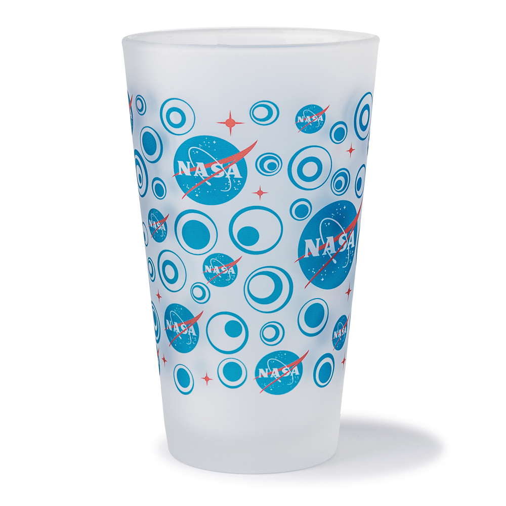 NASA Vector Pint Glass,NASA,08/9016 DOM