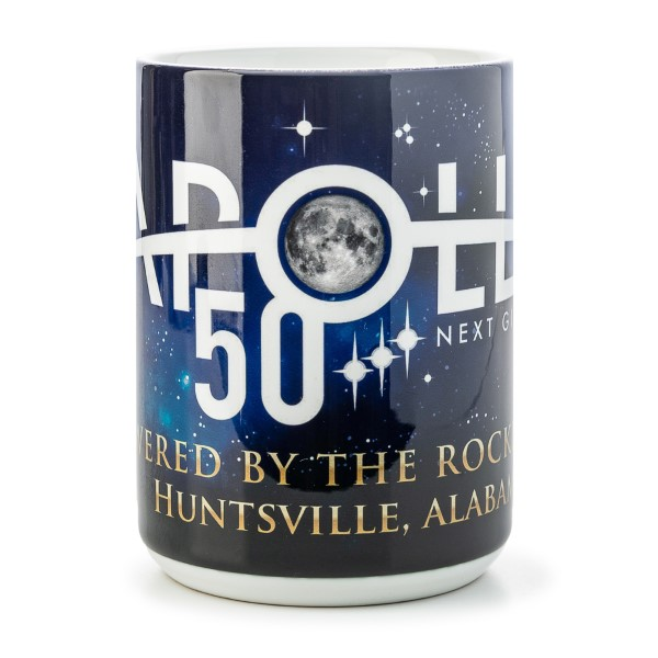 Powered by Rocket City 15oz Mug,50TH ANNIVERSARY,01/7158 DOM