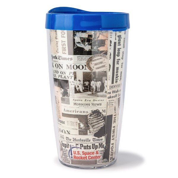 Newspaper 16oz Tumbler,50TH ANNIVERSARY,14/0438 DOM