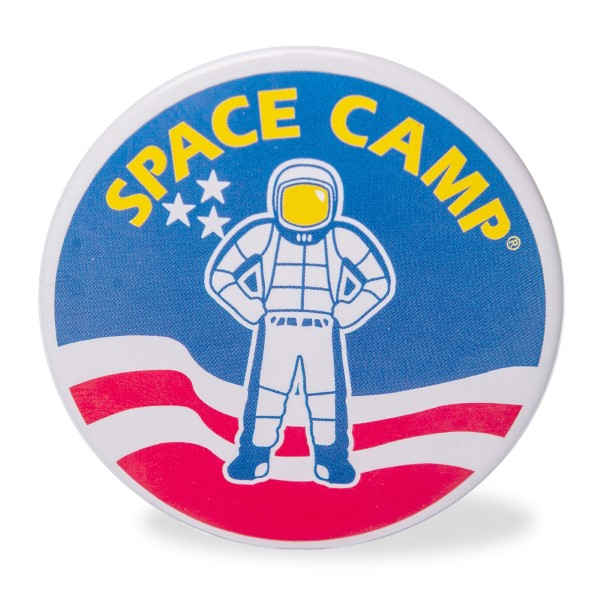 Space Camp Round Magnet,SPACECAMP,05/7138 DOM