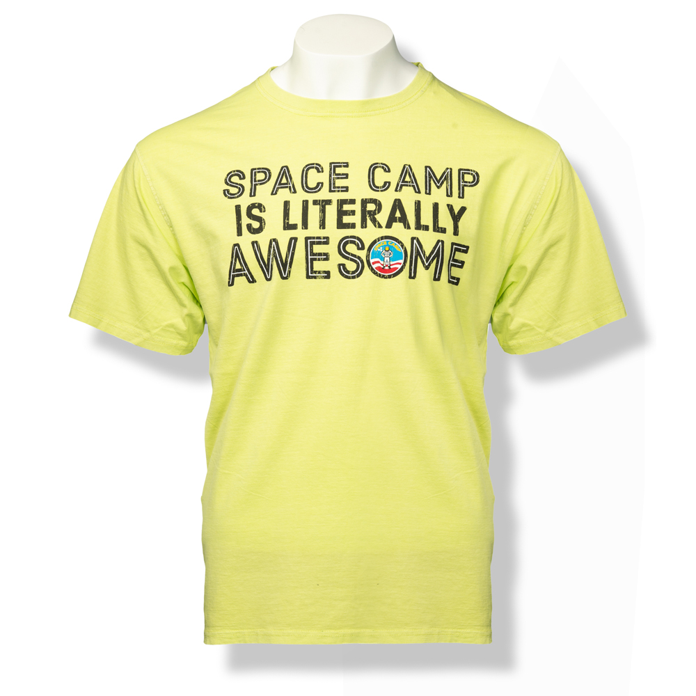 Literally Space Camp T-Shirt,SPACECAMP,S16821/205A