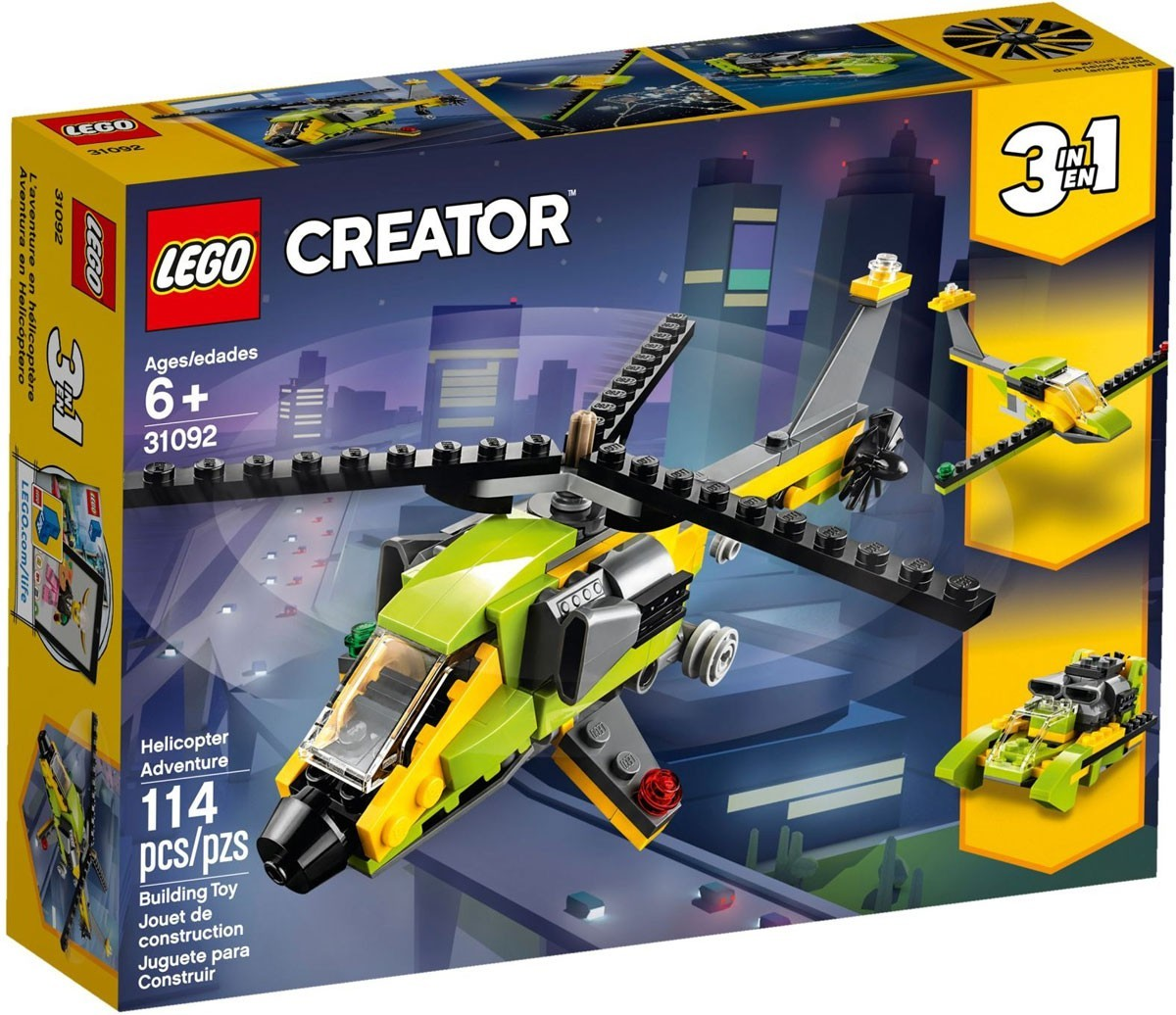 Helicopter Adventure - LEGO,31092
