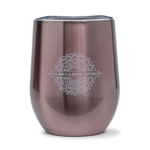 Gold Mandala Wine Tumbler,S137169/MS300/7478