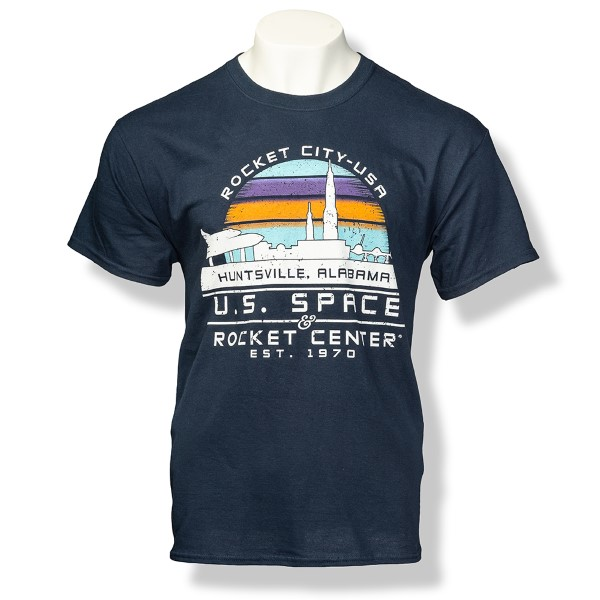 Rocket City Sunset T-Shirt,ROCKET CITY USA,S131846/131846/5000