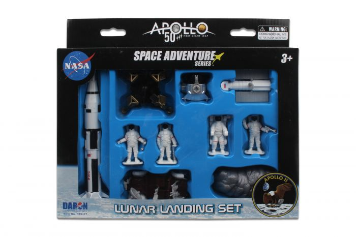 Apollo 11 50th Anniversary Lunar Landing Set,Case Pack 12/36,RT9117