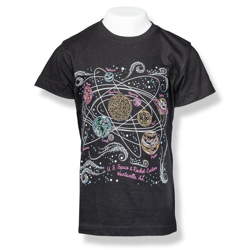 Bedazzled Solar System Fashion T-Shirt,9499