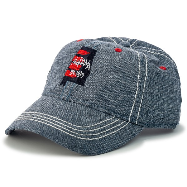 Watercolor State of Mind Ladies Oxford Cap,ROCKET CITY USA,S137979/7476/PH224