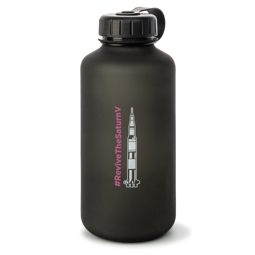 Revive the Saturn V Tritan Water Bottle,MS209