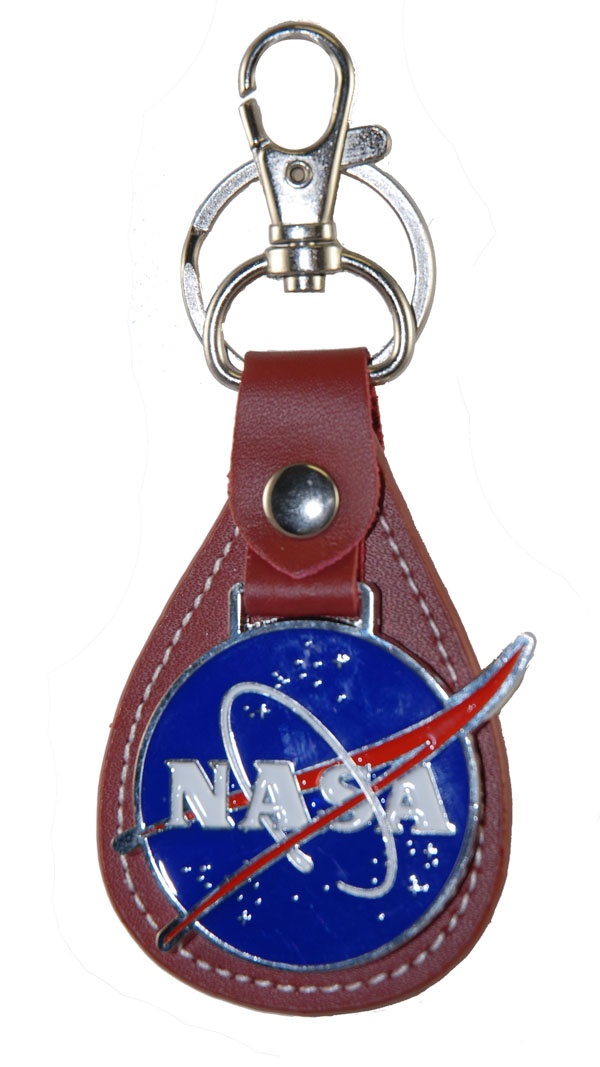 NASA Vector Leather Keychain,NASA,KEY383 IMP