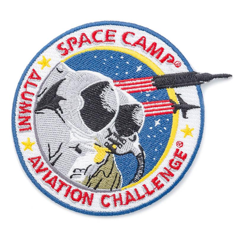 Space Camp/Aviation Challenge Alumni Patch,SPACECAMP