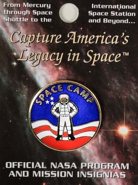 Space Camp Mission Pin - Astronaut,SPACECAMP,SH1142CARD
